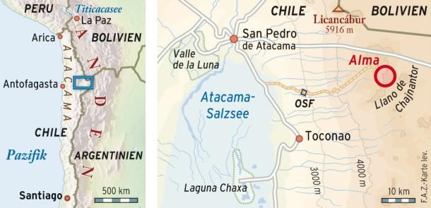Atacama Wüste Karte.Bilderstrecke Zu Reise In Die Atacama Wüste In Chile Bild 6 Von 6