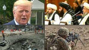"""Friedensgespräche mit Taliban sind """"tot"""""""