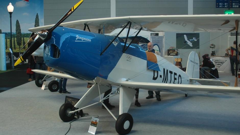 BF 139 Clubmann: Ultraleichtflugzeug mit historischem Charme von Bücker + Funk