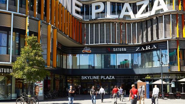 Skyline-Plaza-Kunden haben vor allem Hunger