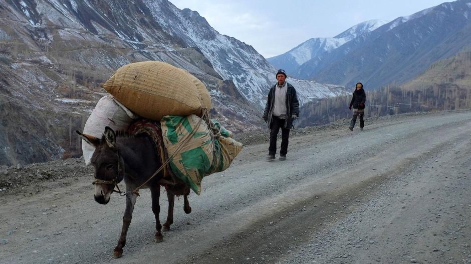 So sieht der Alltag in den Bergen Tadschikistans aus.