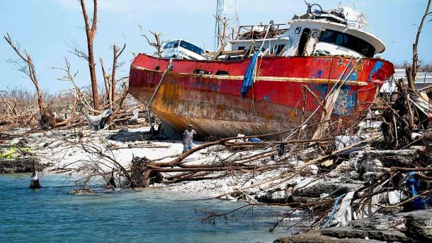 So verwüstet sind die Bahamas