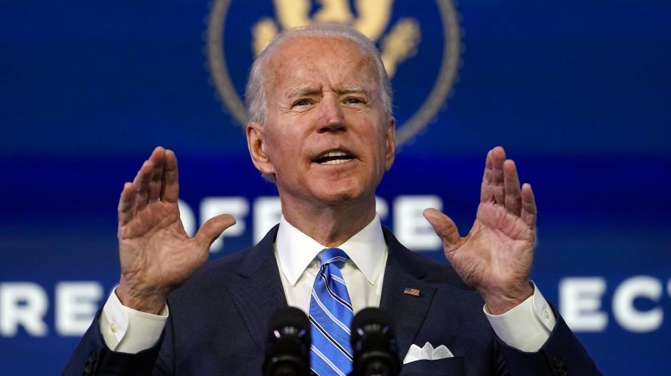 Bald offiziell Amerikas Präsident: Joe Biden