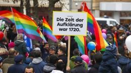 Cottbuser demonstrieren für Toleranz