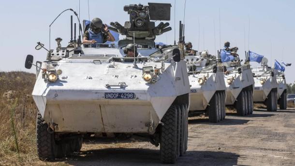 Islamisten bringen 43 UN-Soldaten in ihre Gewalt
