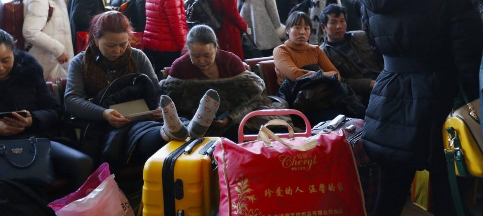 """China: """"Binian"""" heißt der neue Neujahrstrend"""