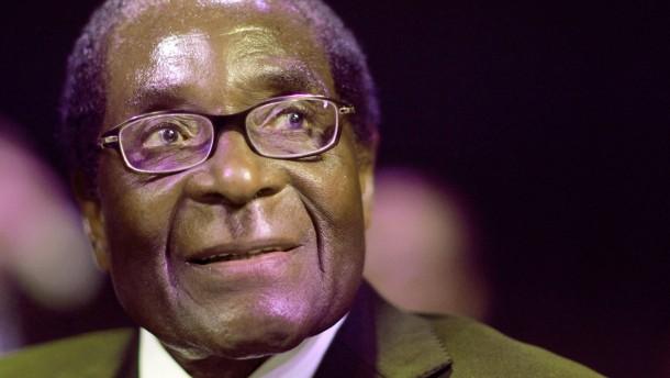 Robert Mugabe ist tot