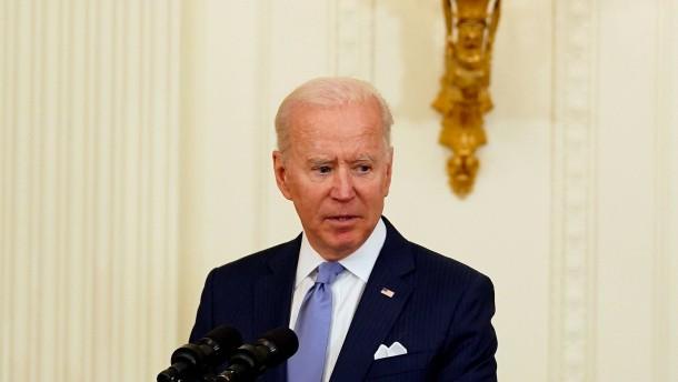 """Biden hält Zweistaatenlösung für """"einzige Antwort"""""""