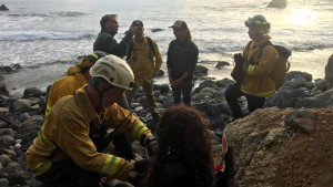 Frau überlebt sieben Tage in ihrem Autowrack