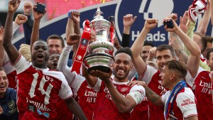 Arsenal gewinnt dank Aubameyang gegen Chelsea