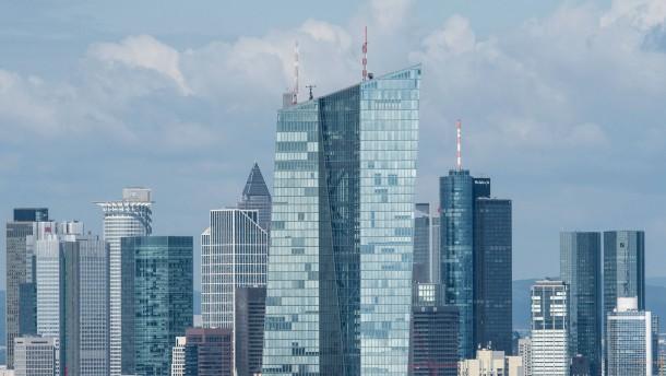 EZB hält Europas Banken für zu schwach