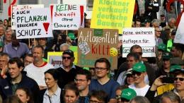 """""""Klöckner verkauft deutsche Bauern"""""""