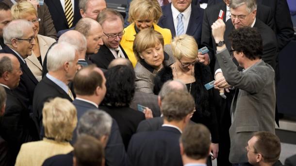 Bundestag Abstimmung Leistungsschutzrecht