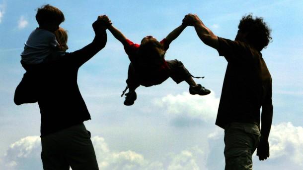 Der Stress der Eltern macht Kinder krank