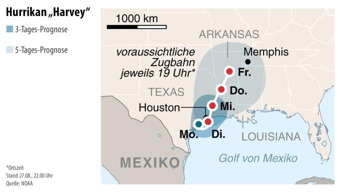 Hurrikan Harvey: Warum wurde Houston nicht evakuiert?
