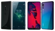 Sony XZ2 und Huawei P20 Pro