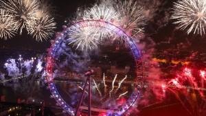Die Welt begrüßt das Jahr 2017
