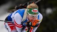 Ausgezeichnet: Lisa Theresa Hauser überzeugte die Jury durch die selbstlose Weitergabe ihres Skistocks an Vanessa Hinz.