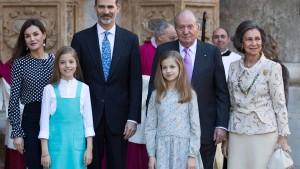 Video soll Streit im spanischen Königshaus zeigen