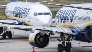 Am Freitag fallen etwas weniger Ryanair-Flüge aus