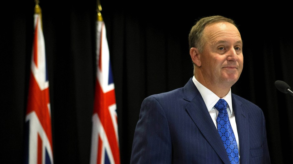 Neuseeländischer Regierungschef hört auf
