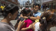 Nachbeben zerstört viele bereits beschädigte Häuser
