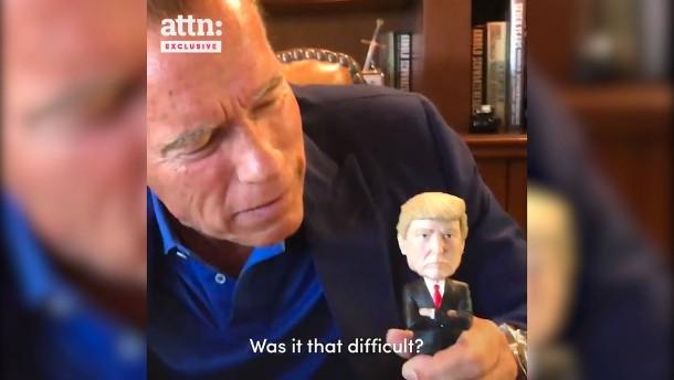 Schwarzenegger gibt Trump Nachhilfe