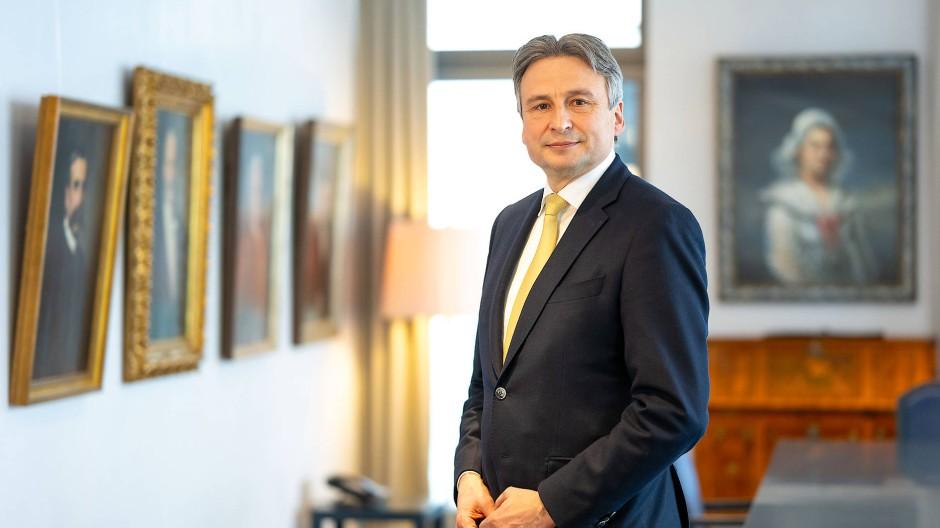 Mister Finanzplatz: Gerhard Wiesheu will die Akteure in der Bankenstadt Frankfurt zusammenbringen.