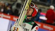 Skispringer Markus Eisenbichler hübschte die deutsche Bilanz auf.