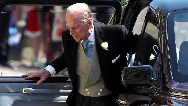 Prinz Philip ist jetzt 98