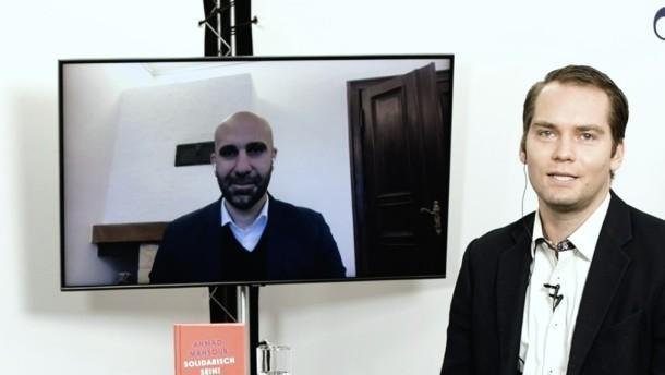 """Der Extremismus-Experte Ahmad Mansour über """"Solidarisch sein!"""""""