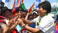 Evo Morales erwägt vierte Amtszeit als Präsident