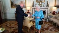 Königin Elisabeth II. hat Boris Johnson zum neuen britischen Premierminister ernannt.