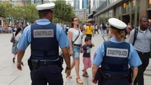 Frank will mehr Stadtpolizisten