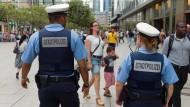 Stadtpolizei: Besonders auf der Zeil und im Bahnhofsviertel gefragt.