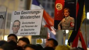 SPD-Generalsekretärin Fahimi nennt Pegida-Chef wahnsinnigen Faschisten