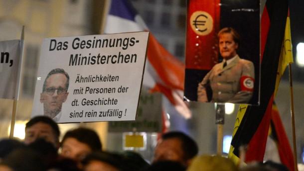 "SPD-Generalsekretärin Fahimi nennt Pegida-Chef ""wahnsinnigen Faschisten"""