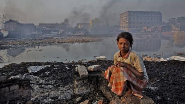 Jedes siebte Kind atmet giftige Luft