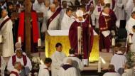Trauerfeier für ermordeten Priester