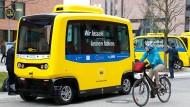 Fahrerlose Busse in Berlin