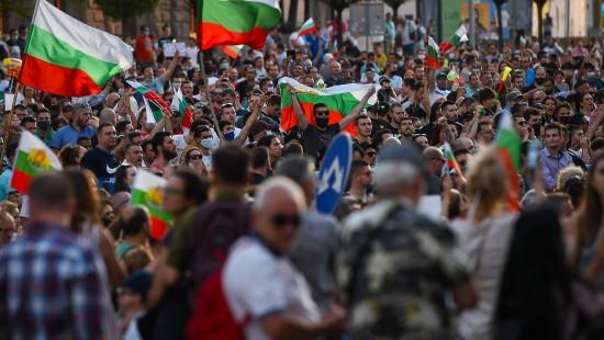 Demonstranten fordern Rücktritt der bulgarischen Regierung