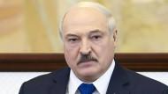 Alexander Lukaschenko am 26. Mai in Minsk