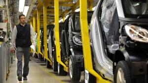 Daimler stellt Smart-Werk Hambach zum Verkauf