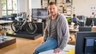 Radler: Andreas Gahlert will mit dem Start-up Cobi Fahrräder mit mehr digitaler Technik ausrüsten.