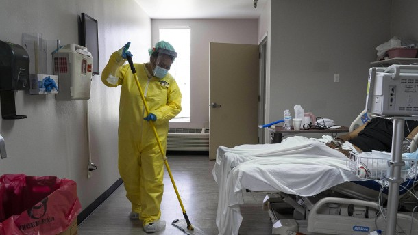 53.069 Neu-Infizierte in Amerika an einem Tag