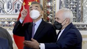China macht seinen Einfluss im Mittleren Osten geltend