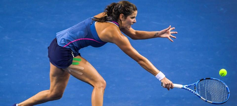 Damen Tennis Julia Gorges Verpasst Finale Der B Wm