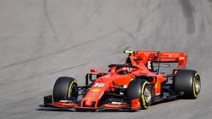 Leclerc auch in Sotschi der Schnellste