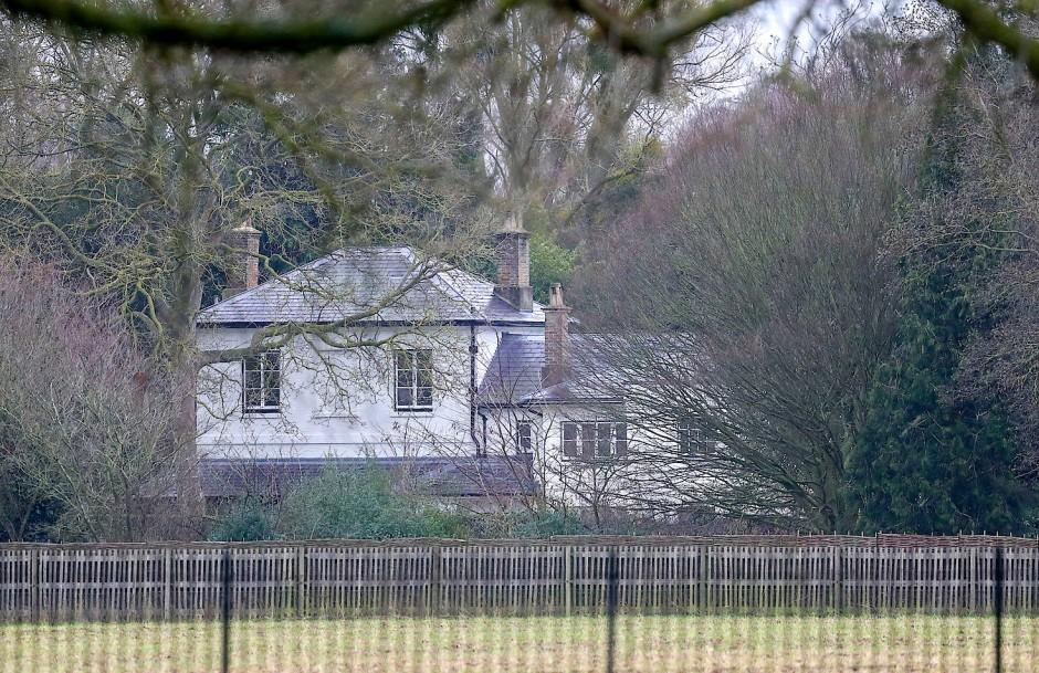 Das Frogmore Cottage, die Residenz des Herzogs und der Herzogin von Sussex, Prinz Harry und Herzogin Meghan, und ihrem Sohn Archie.