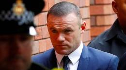 Wayne Rooney muss Führerschein abgeben
